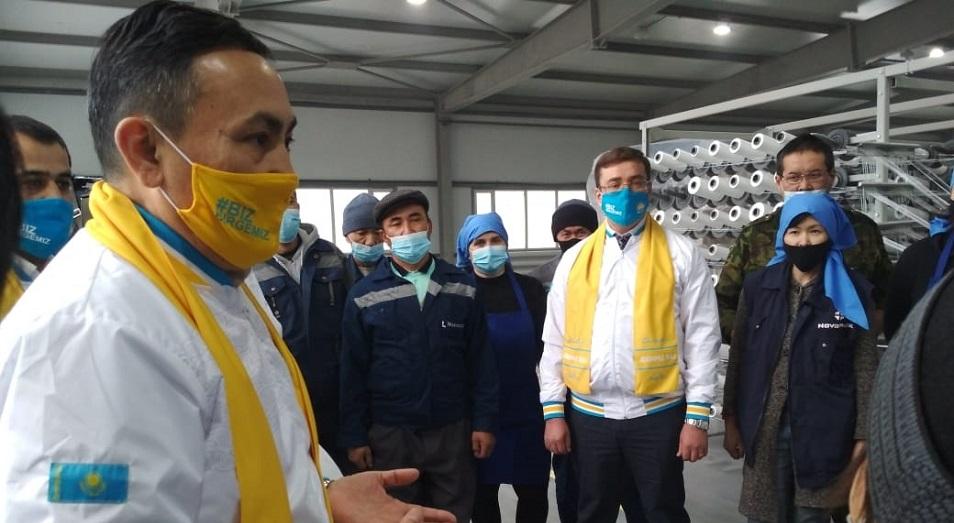 Партия Nur Otan гарантирует мир, согласие и процветание народу Казахстана!
