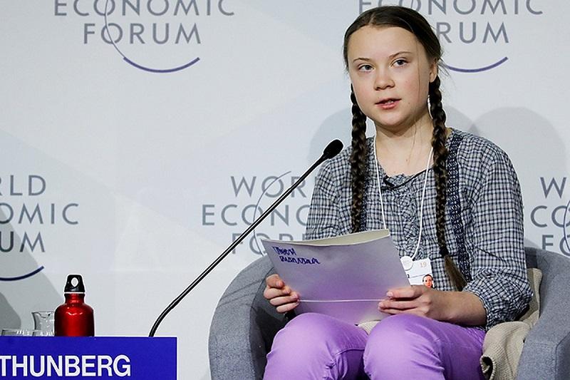 В Давосе Грета Тунберг заявила об отсутствии прогресса в вопросе защиты климата