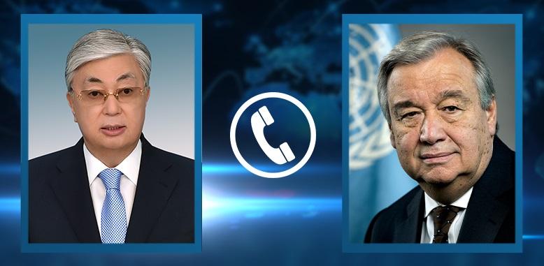 Казахстан поддерживает инициативы ООН – Касым-Жомарт Токаев