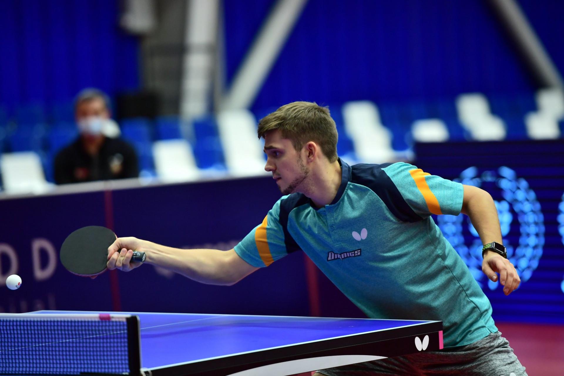 Кирилл Герасименко вышел в ¼ финала международного турнира по настольному теннису