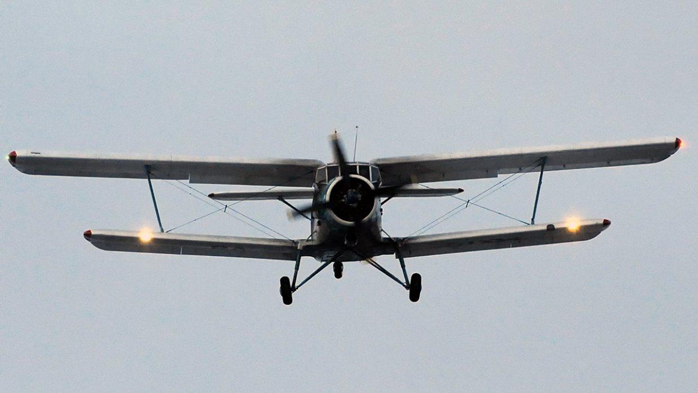В Акмолинской области упал самолет АН-2