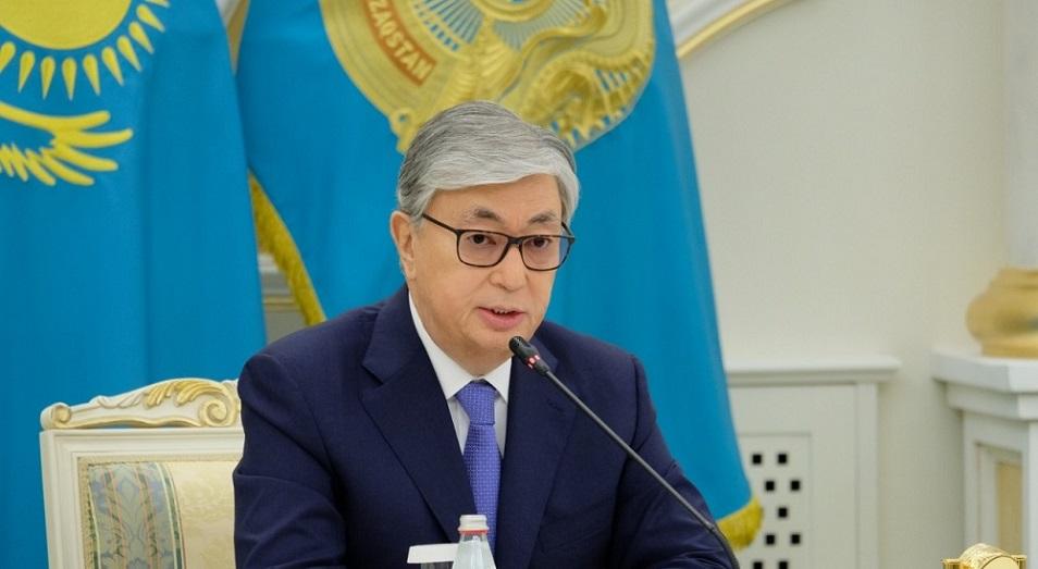 Поздравление Касым-Жомарта Токаева с Днем защитника Отечества