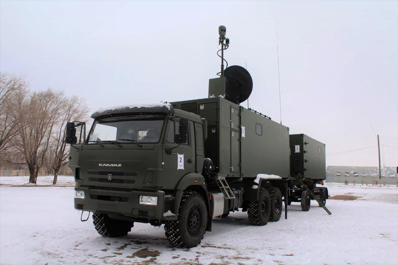На вооружение в Казахстане поступили новейшие станции РАСТ-2KZ
