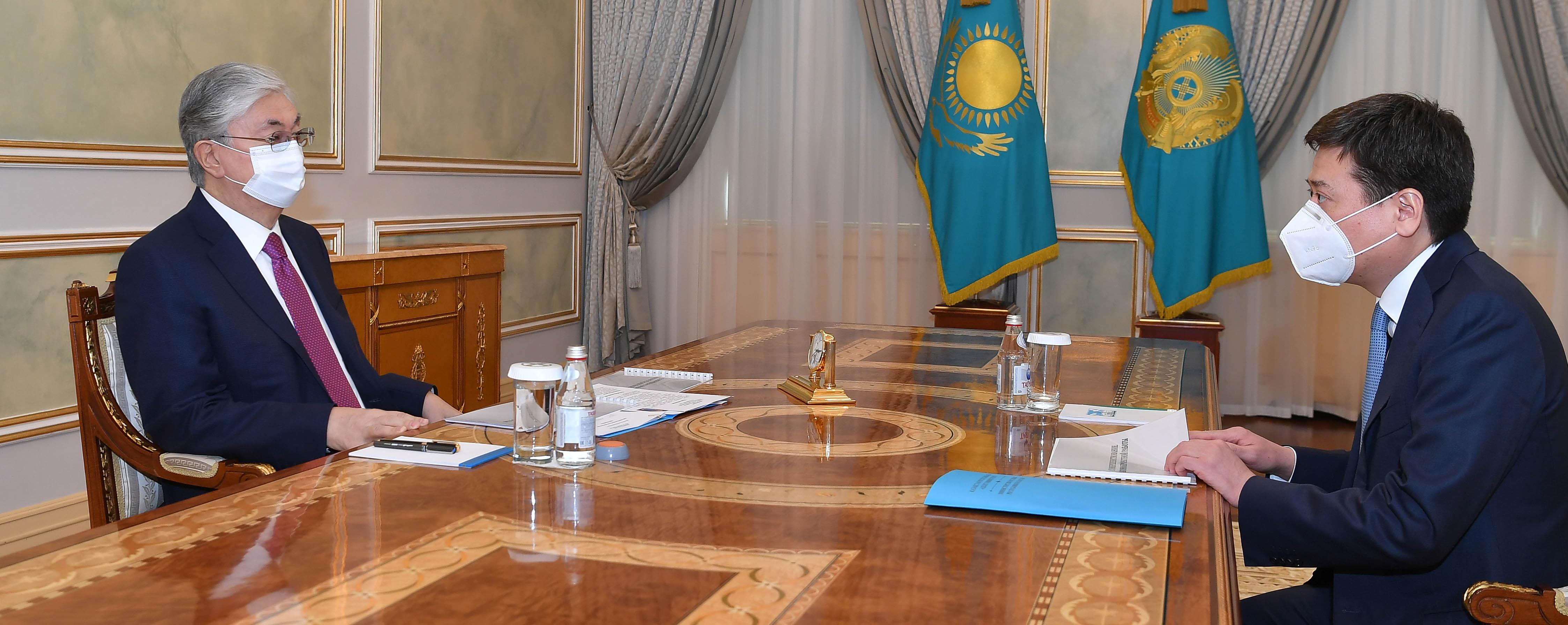 Глава минюста доложил президенту об основных итогах работы ведомства за прошлый год