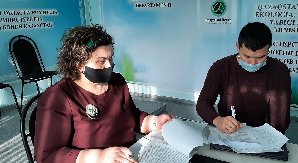 Проблему утилизации отходов решали в Восточном Казахстане