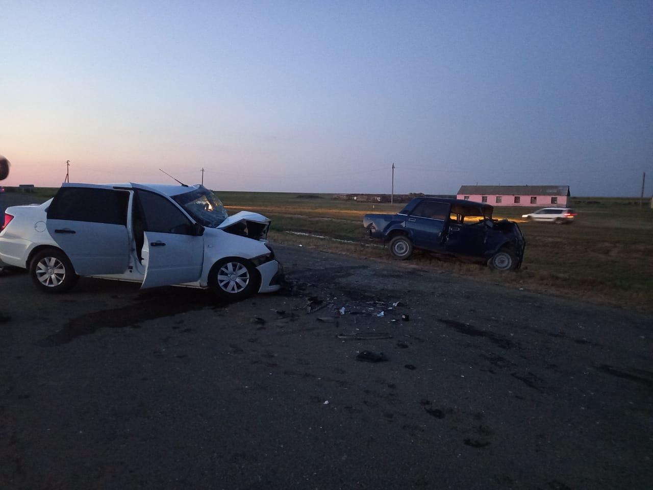 В ДТП на трассе ЗКО погиб 7-летний ребенок