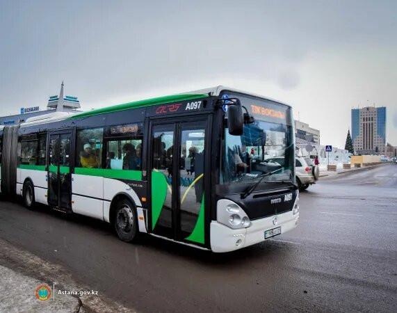 В Нур-Султане по субботам и воскресеньям общественный транспорт ходить не будет