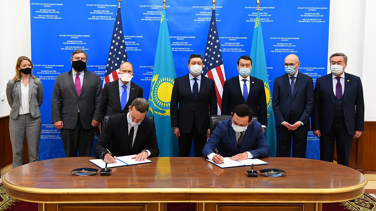 Казахстан наращивает инвестиционное сотрудничество с США через площадку МФЦА