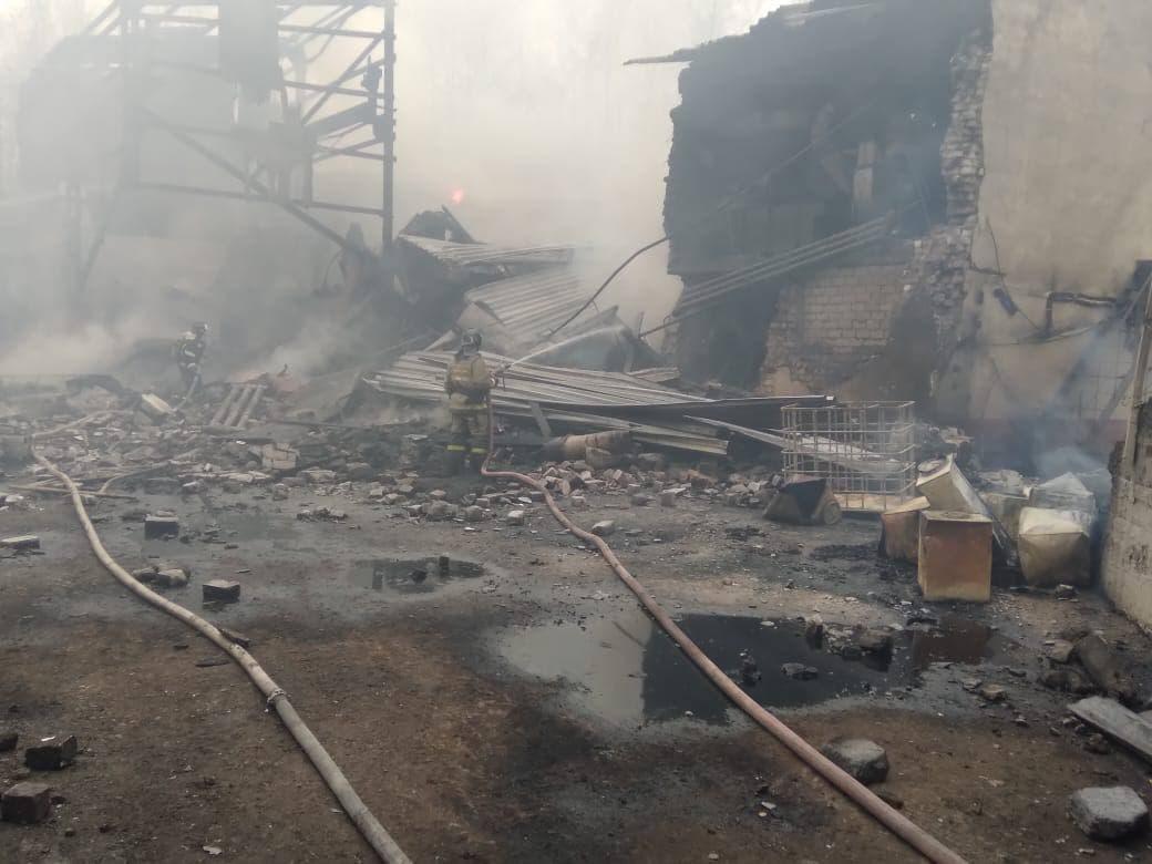 Пожар на пороховом заводе: рязанские власти назвали число погибших