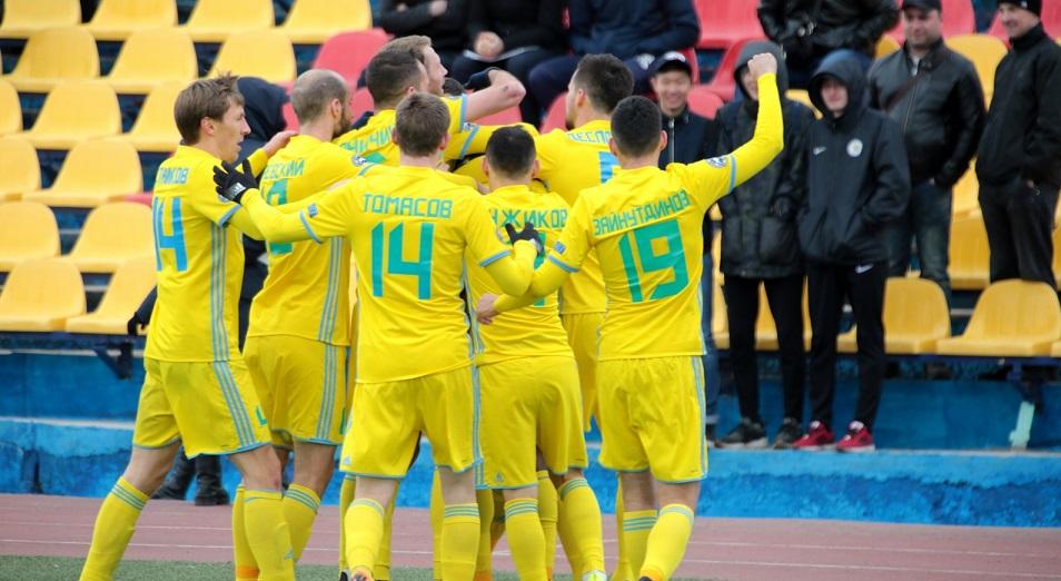 КПЛ: «Астана» укрепляет лидирующие позиции