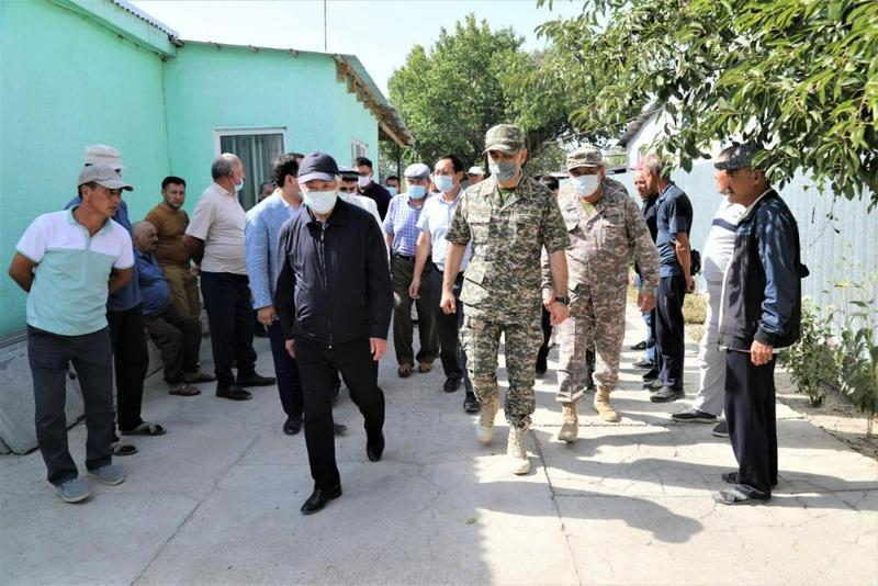 Ермекбаев пен Сапарбаев жарылыс салдарынан қаза тапқандардың  отбасыларына барды