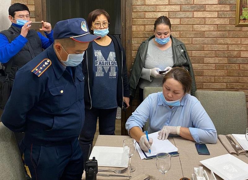 В Алматы на минувших выходных проверено соблюдение карантинных мер на свыше 200 объектах