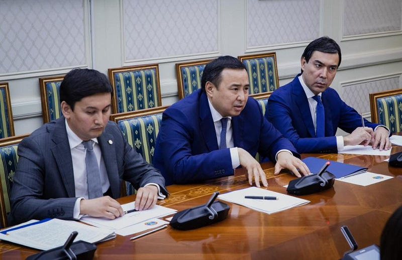 """Акимат и НПП """"Атамекен"""" обсудили трудоустройство населения"""