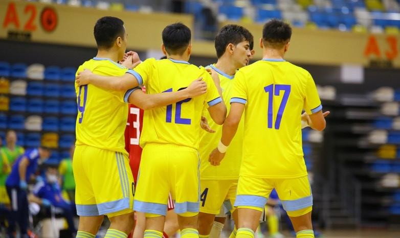 Какую строчку в рейтинге ФИФА занимает сборная Казахстана по футзалу