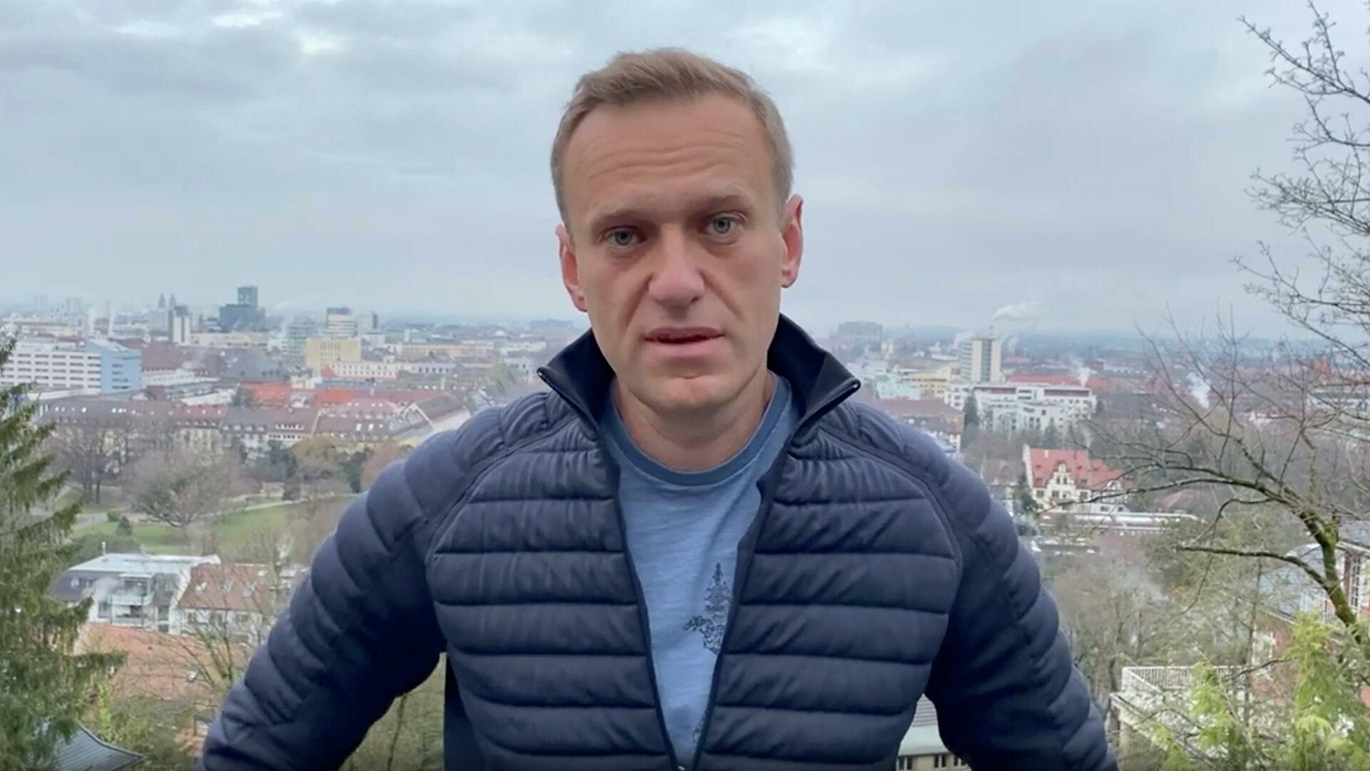 Россия направила Германии новый запрос по Алексею Навальному