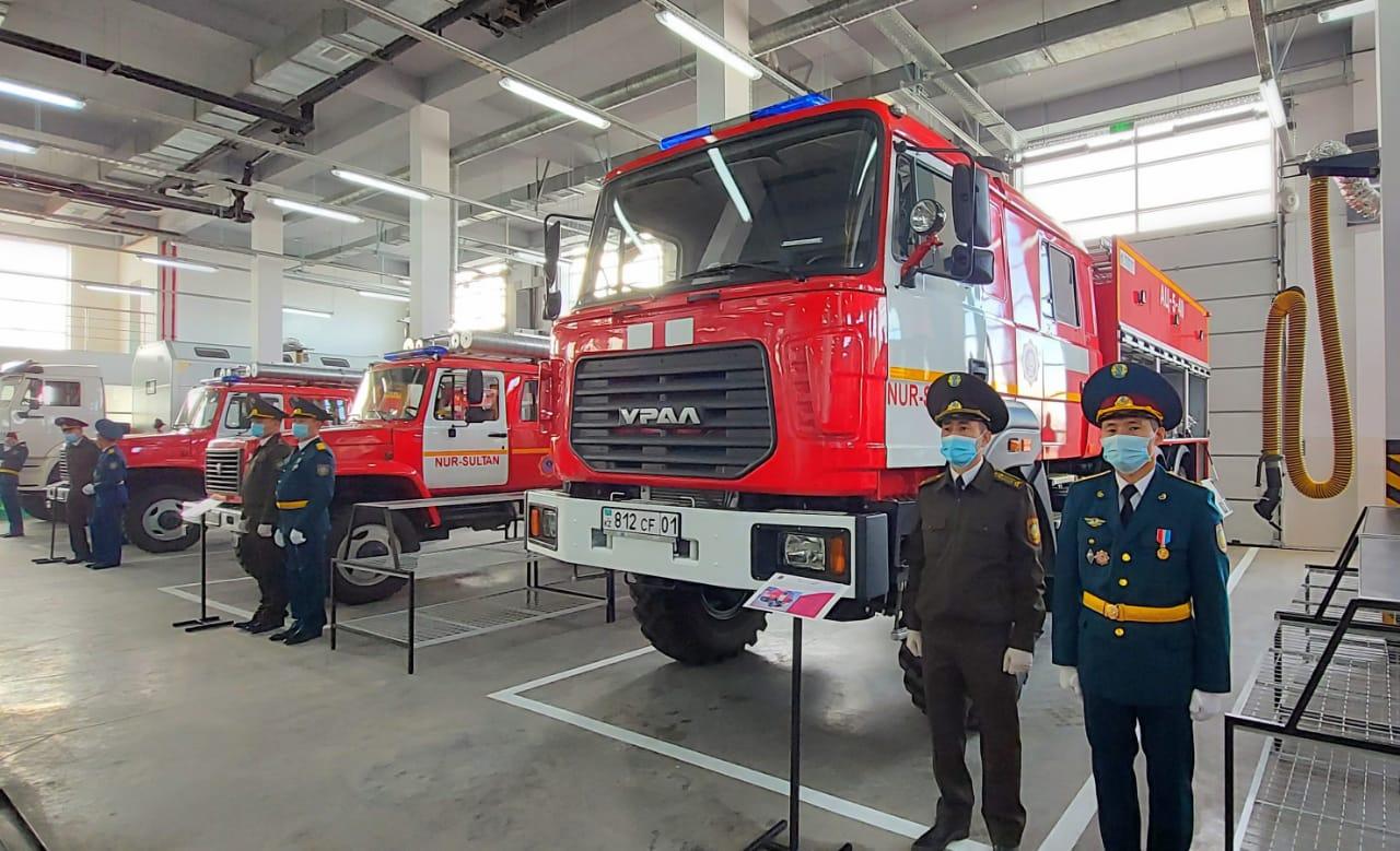 Байконурский район столицы будет обслуживать новое пожарное депо