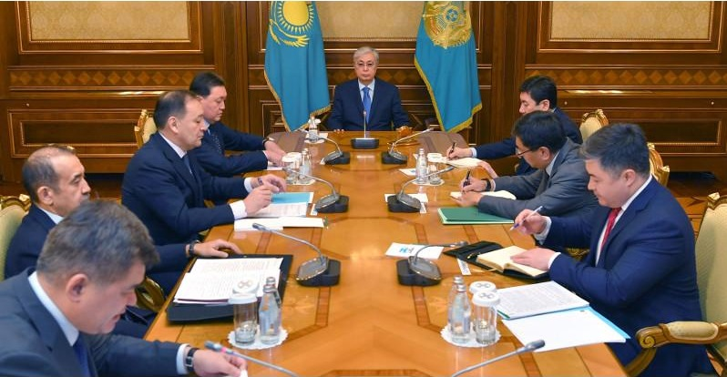 Касым-Жомарт Токаев провел совещание в связи с пандемией коронавируса