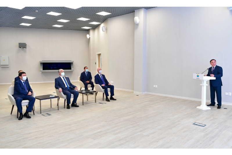 Мемлекет басшысына Ақмола облысының инвестициялық жобалары таныстырылды