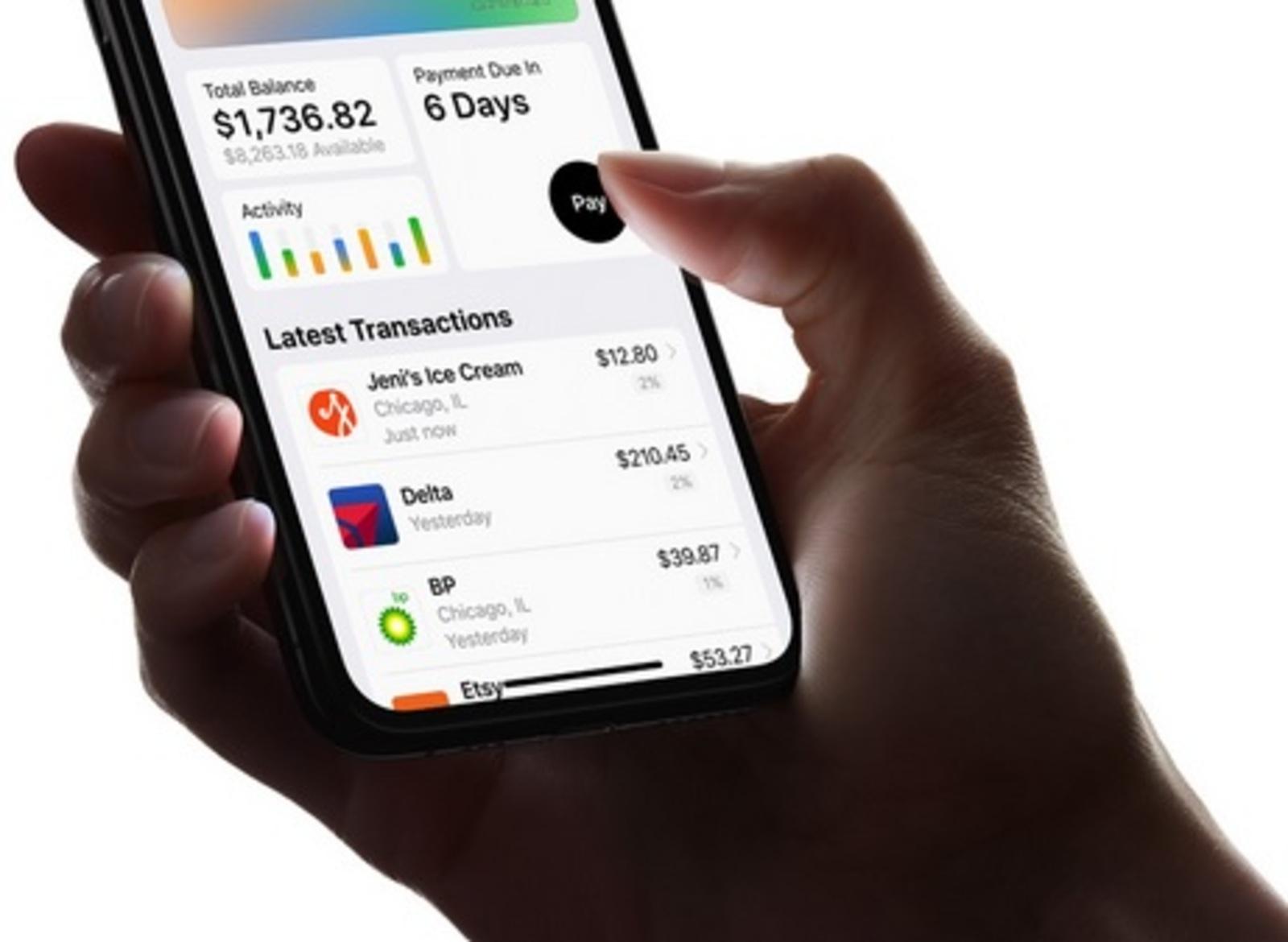 Компания Apple выпустила собственную кредитную карту