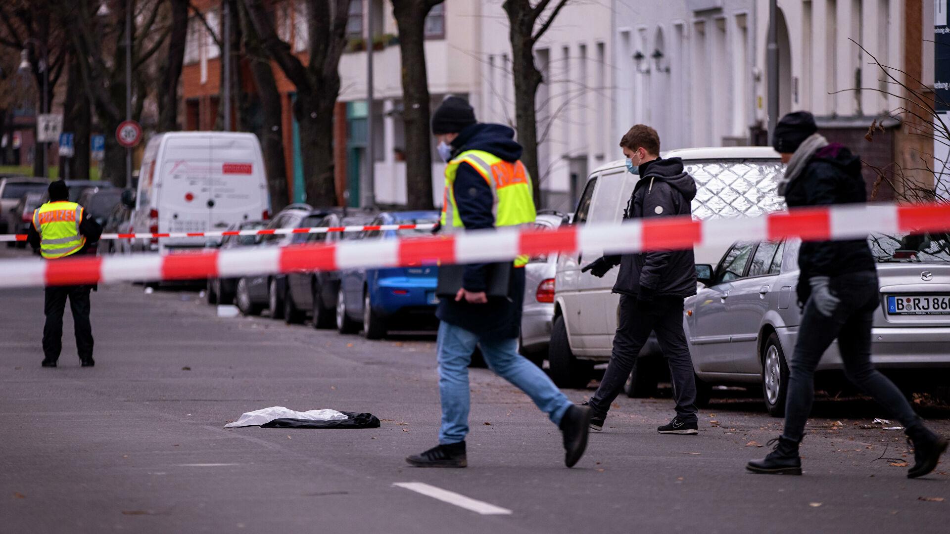 Несколько человек пострадали при стрельбе в Берлине