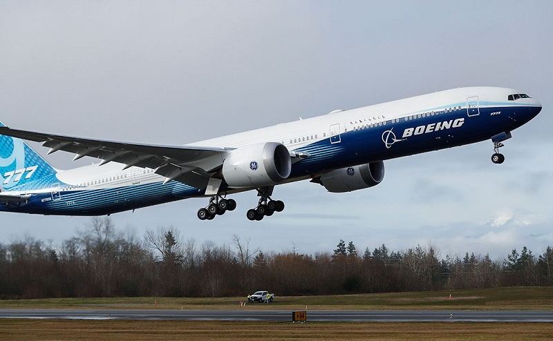 Поставки самолетов Boeing во II квартале упали на 78%