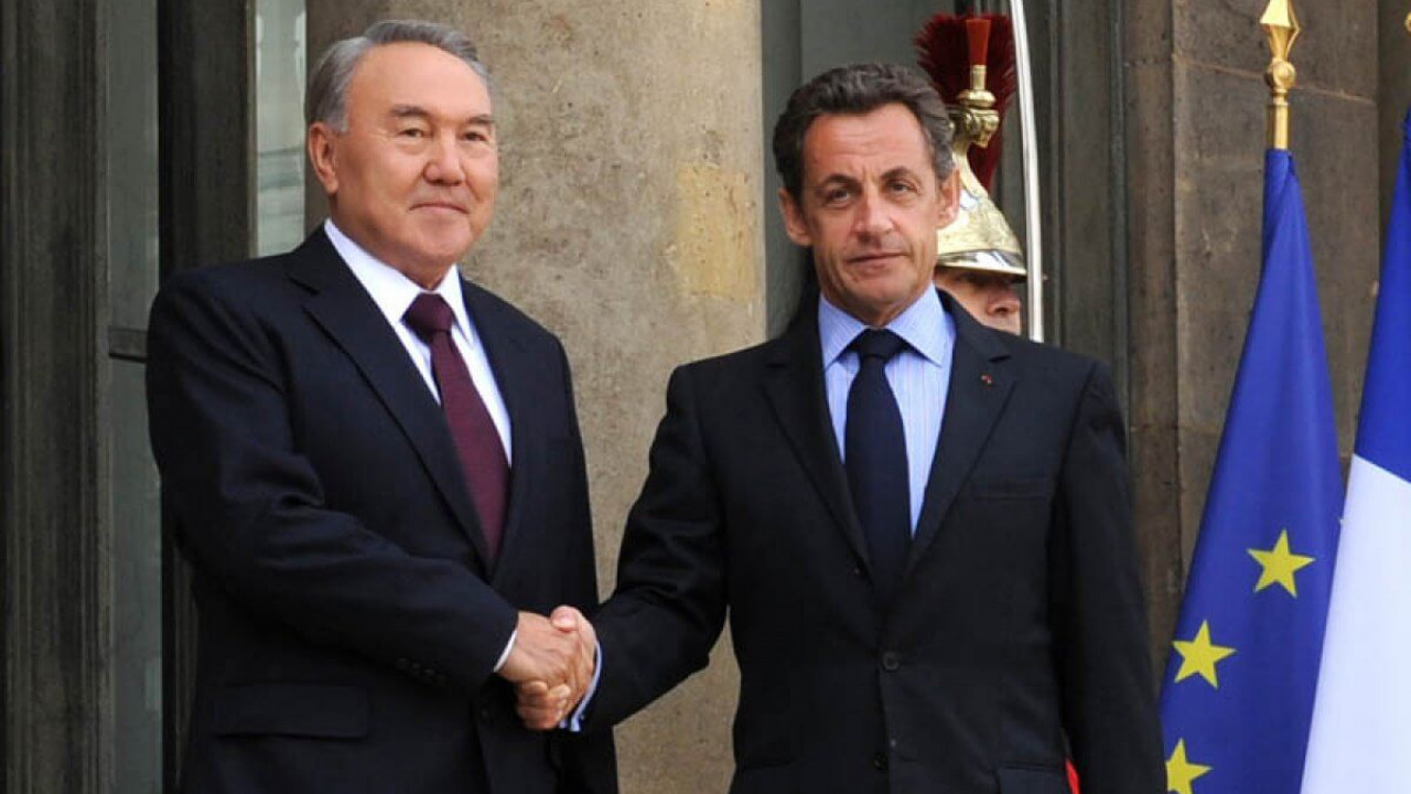 Николя Саркози поздравил Нурсултана Назарбаева