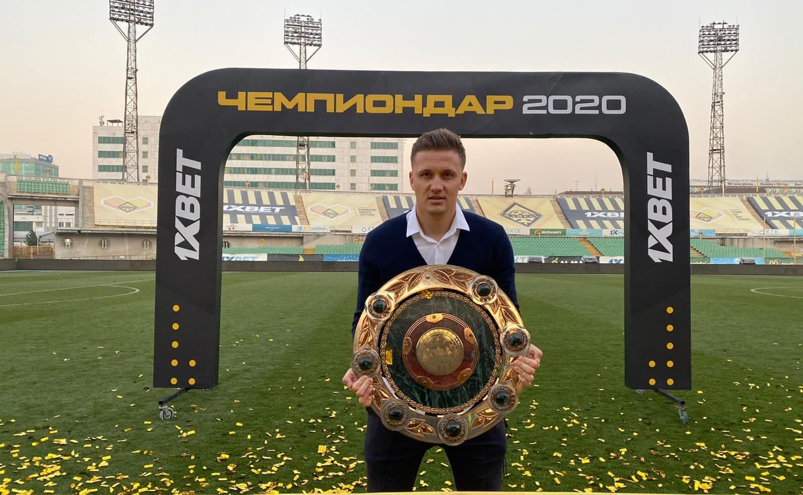 Наставник «Кайрата» признан лучшим тренером Премьер-лиги сезона-2020