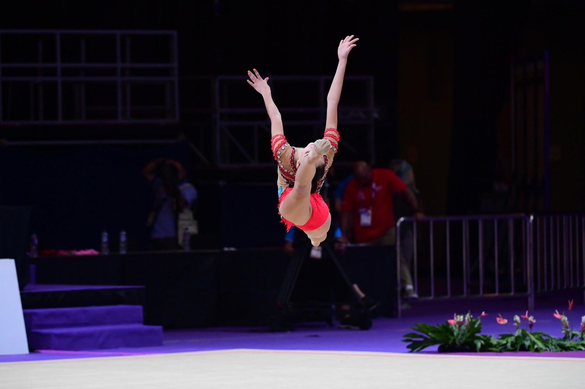 В Шымкенте пройдет чемпионат Казахстана по художественной гимнастике