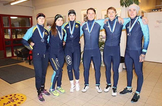 Конькобежцы РК завоевали три медали на Кубке мира среди юниоров