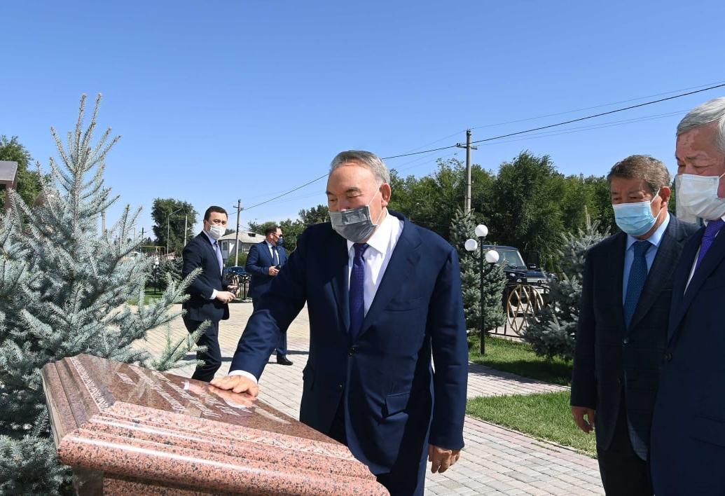 Что посетил Нурсултан Назарбаев в Жамбылской области