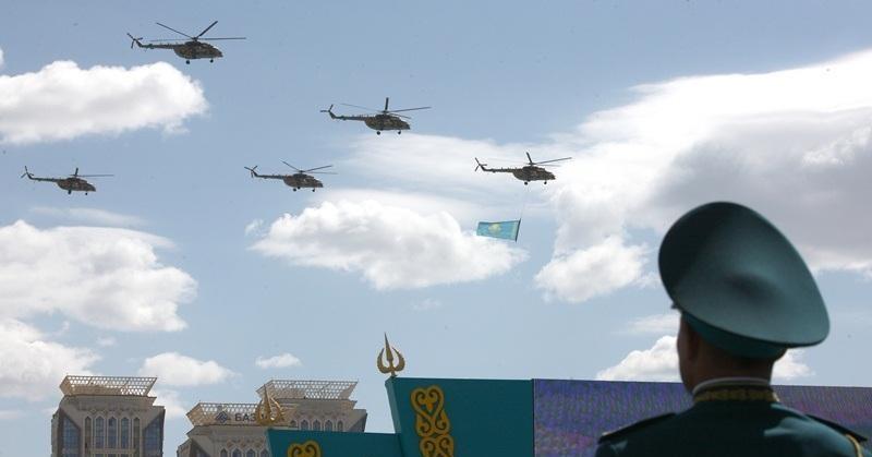 Военного парада 9 и 7 мая в Казахстане не будет