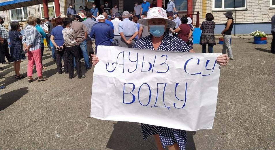 Жители поселка Холодный Ключ в Семее выдвинули ультиматум акимату