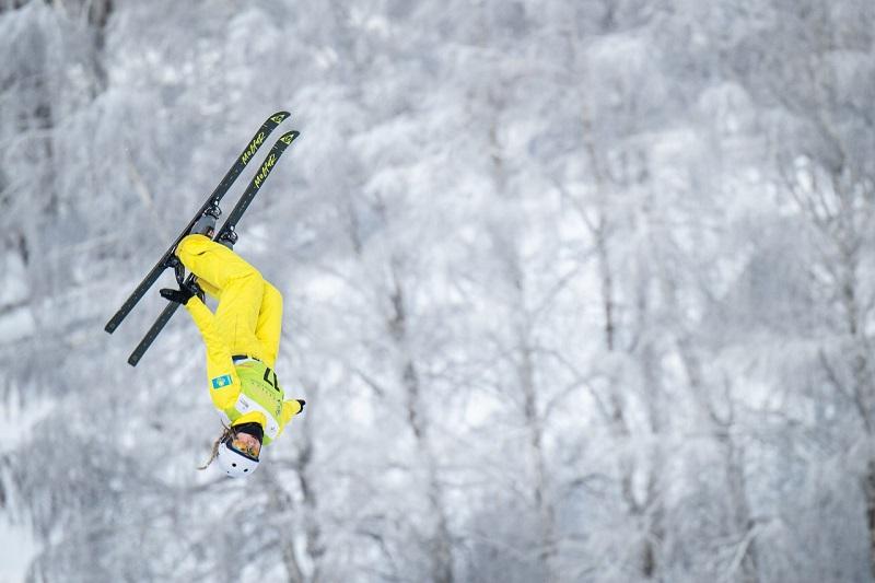 Финальный этап Кубка мира по лыжной акробатике: как выступили казахстанцы