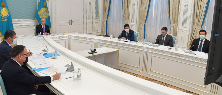 Касым-Жомарт Токаев провел заседание Высшего cовета по реформам