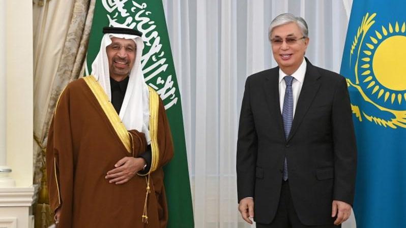 Что обсуждал президент РК с министром инвестиций Саудовской Аравии
