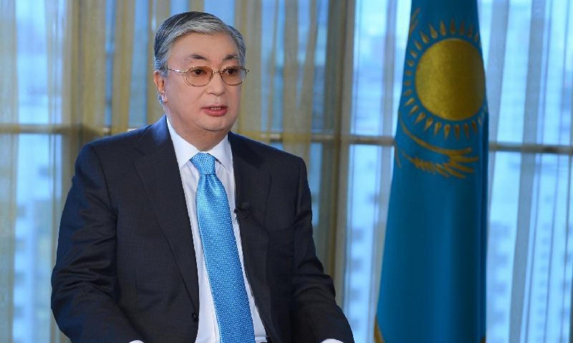 Касым-Жомарт Токаев выступит с обращением к населению