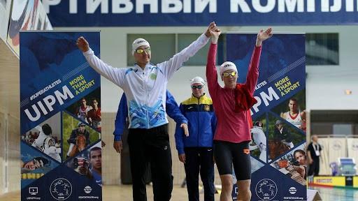 Казахстанские пятиборцы выступили в квалификации мирового онлайн-турнира