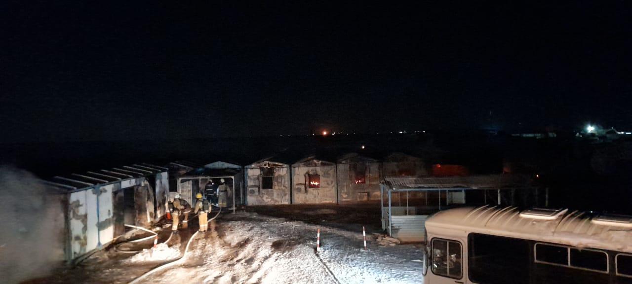На месторождении  «Бектас-Коныс» произошел пожар, погибли трое рабочих
