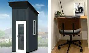 Офис для удаленной работы размером с туалетную кабинку продают в Японии