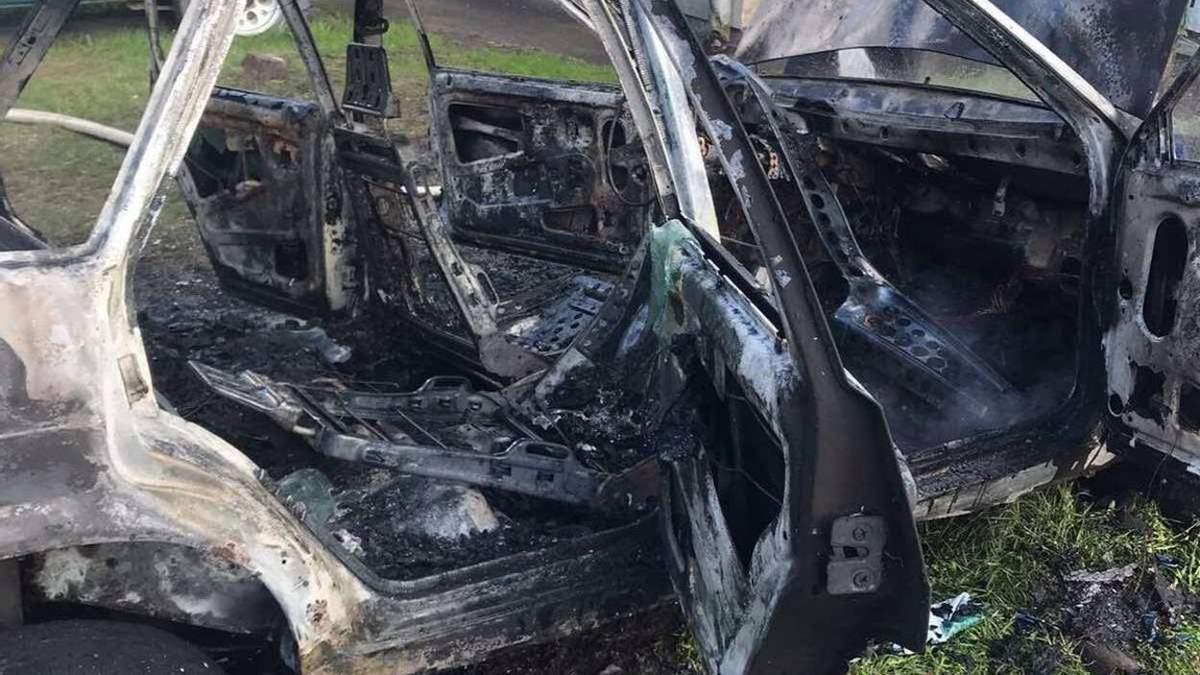 В Актюбинской области в автомашине сгорел ребенок