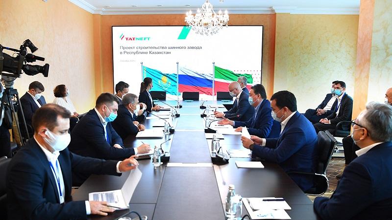 Аскар Мамин и президент Татарстана дали старт трем проектам автомобилестроения