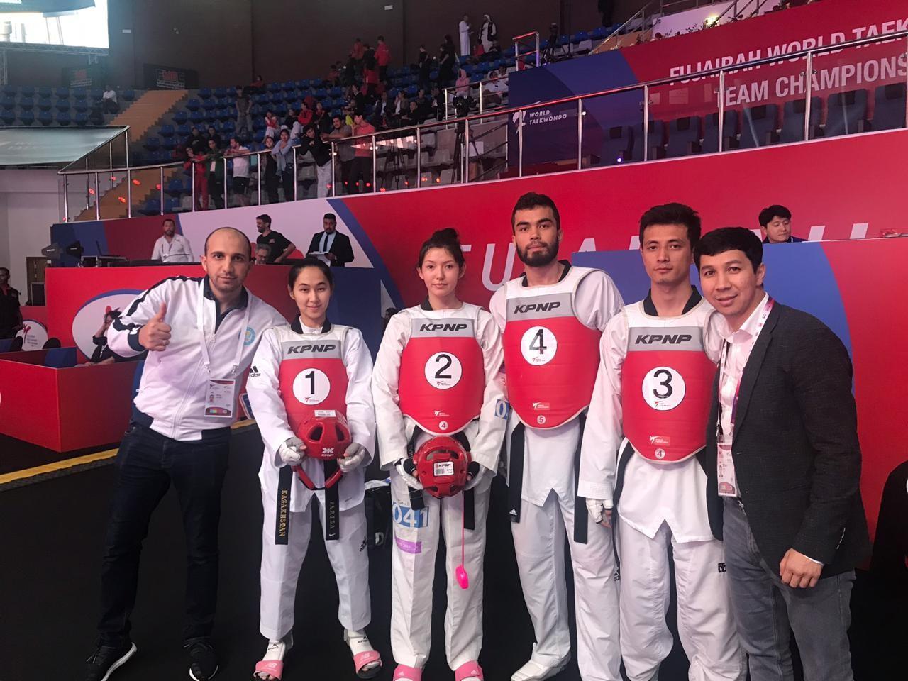 Командный Кубок мира по таеквондо: казахстанцы завоевали две медали