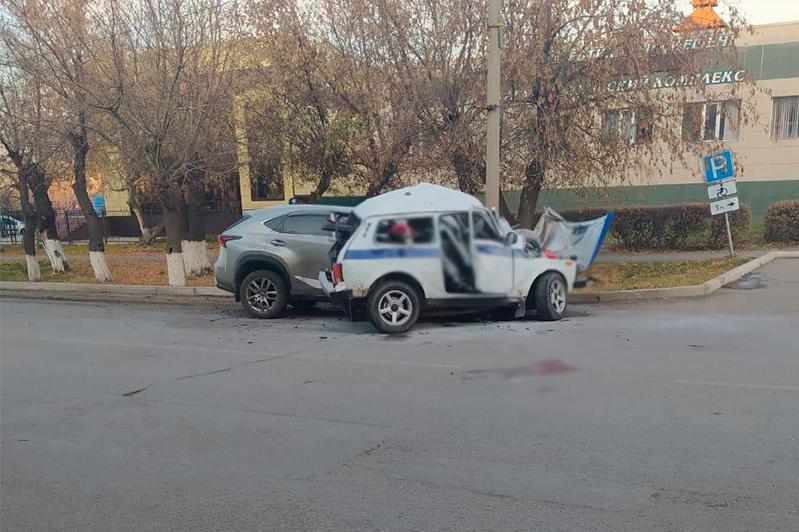 В Щучинске погибли двое полицейских