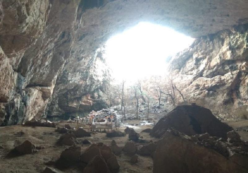 Обокрали и сожгли пещеру Акмечеть в Туркестанской области