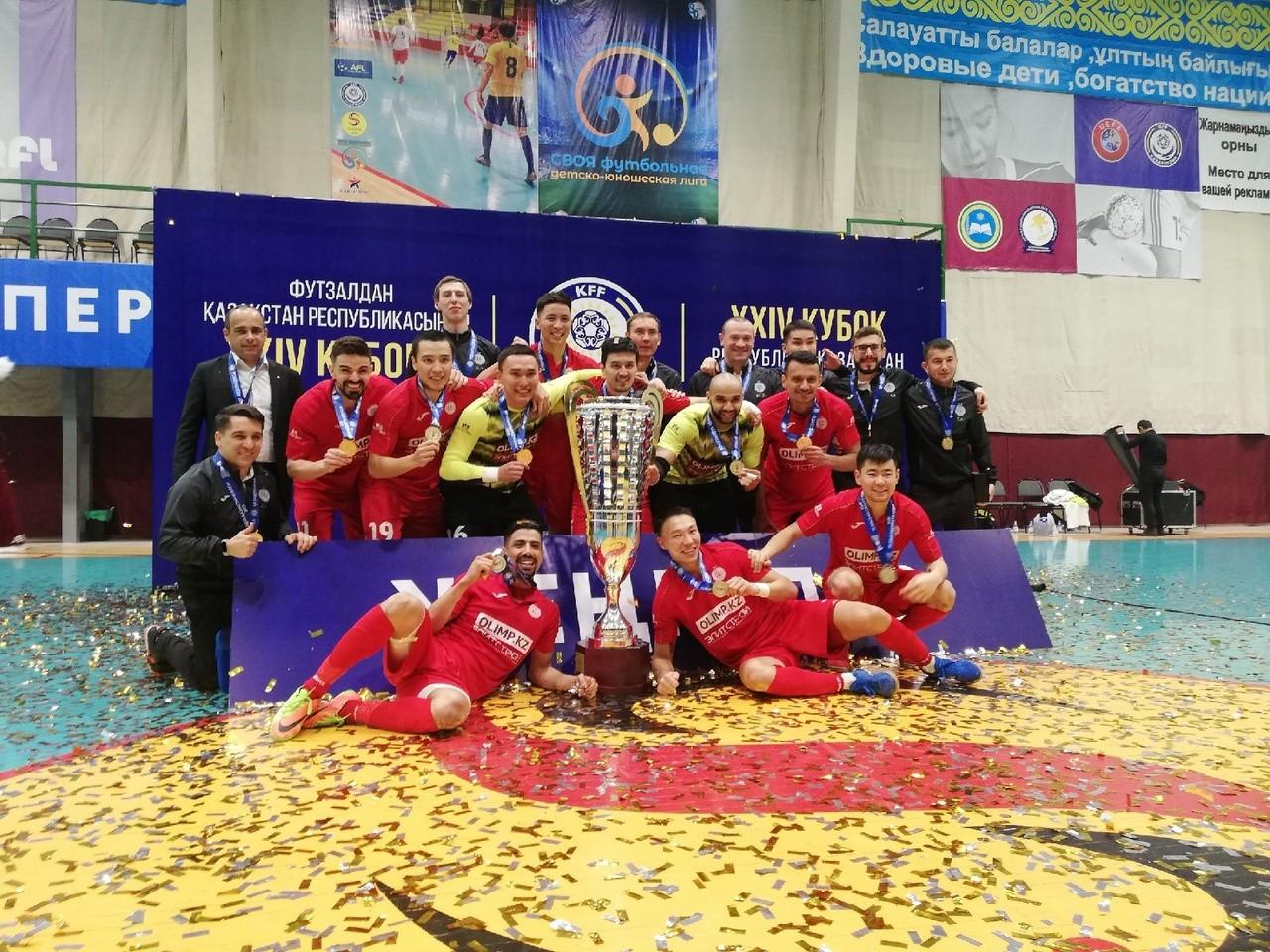 Кубок Казахстана по футзалу пройдет в Нур-Султане