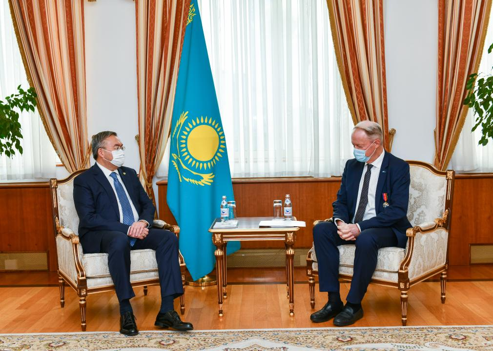 Посол ЕС в Казахстане завершает свою дипломатическую миссию