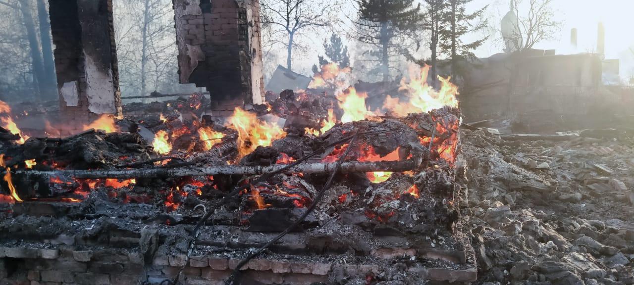 Для пострадавших от крупного лесного пожара в Риддере построят дома