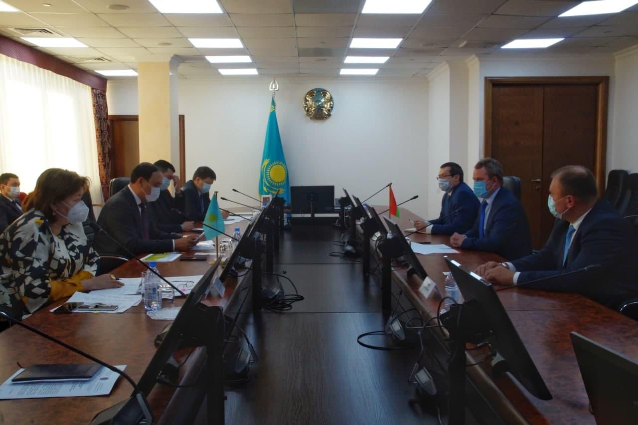 Товарооборот сельхозпродукции между Казахстаном и Беларусью увеличился на 23,5%