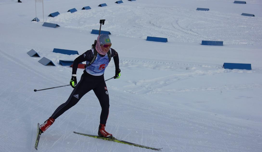 В Алматы состоялись соревнования в спринте в рамках чемпионата Казахстана по биатлону