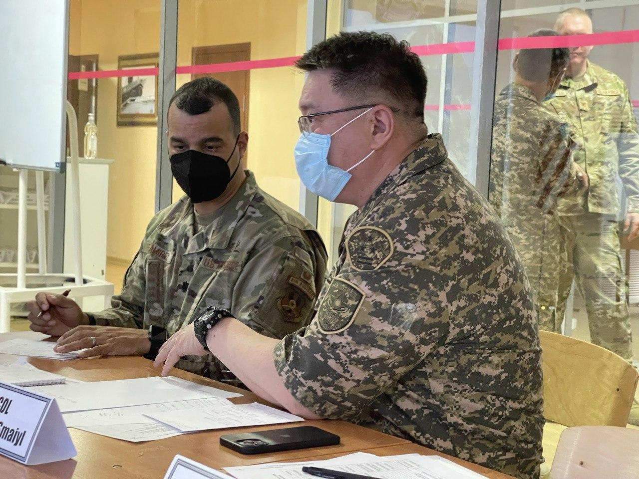 Оборонное ведомство США поделилось с РК опытом развертывания полевого госпиталя